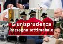 Rassegna di giurisprudenza settimanale 19/2021