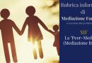 """Mediazione familiare: la """"Peer-Mediation"""" (Mediazione tra pari)"""