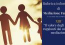 Mediazione familiare: il valore degli accordi raggiunti dai coniugi in mediazione